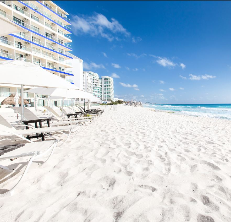 Cancun Resort White Sand Beach