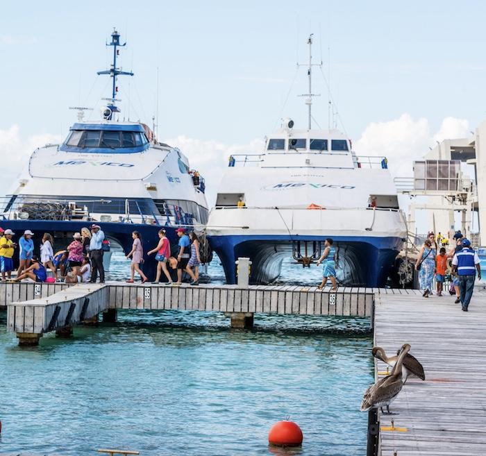 Cozumel ferry terminal