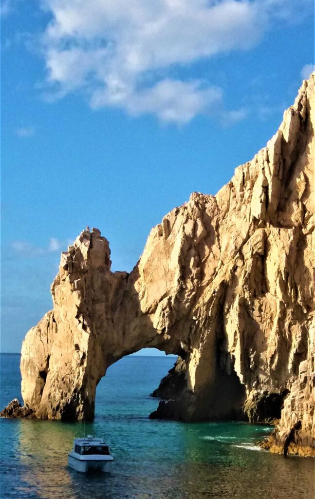Rock Archway near Los Cabos Mexico
