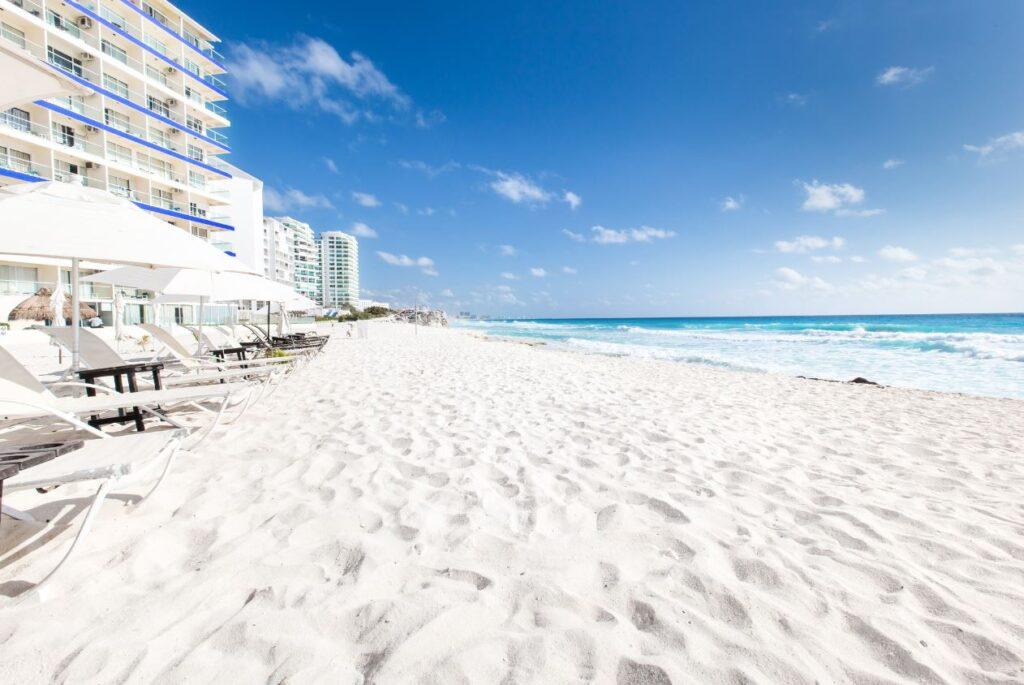 cancun resort hotel on beach