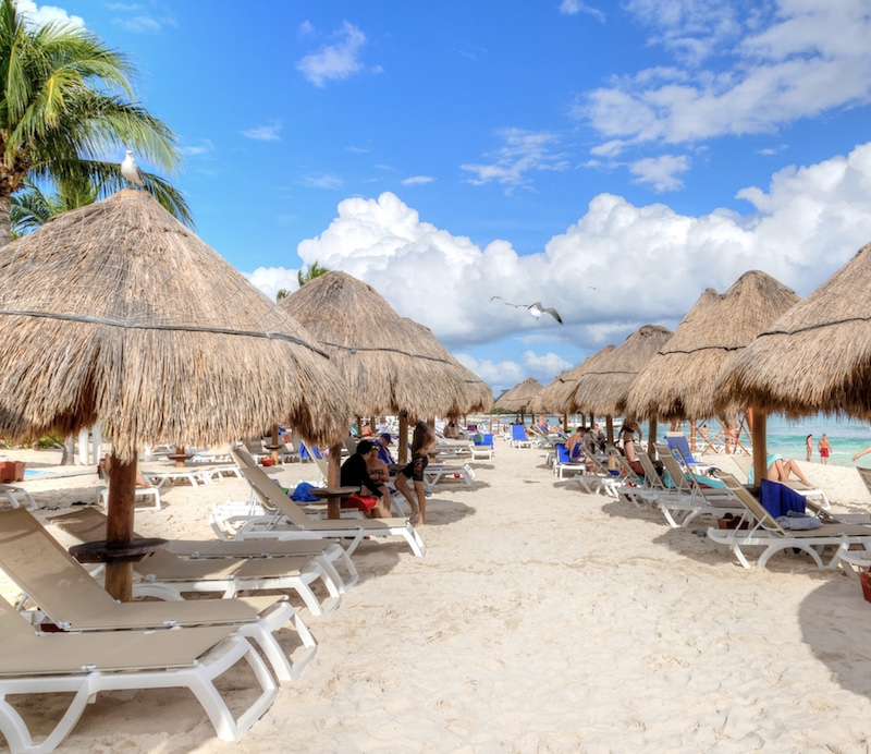 Riveria Maya beach