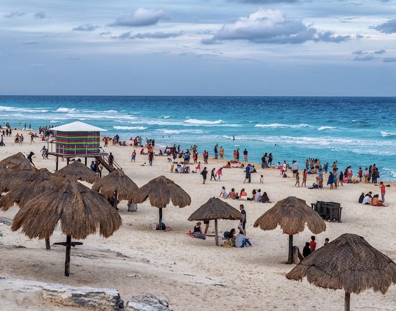 beach in Riveria Maya