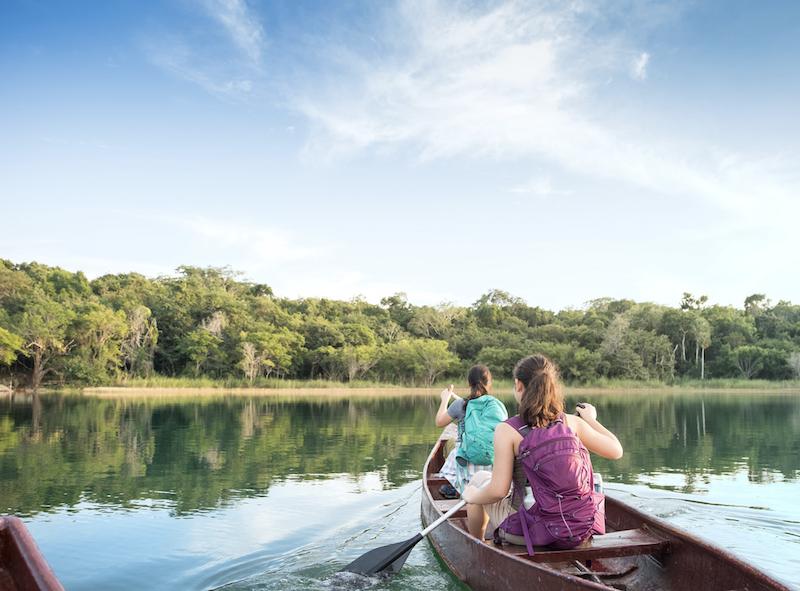 Canoeing In Cancun