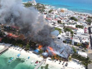 Large Isla Mujeres Fire Destroys Multiple Businesses
