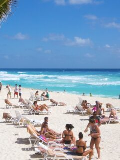 Cancun Busier Than Expected