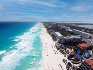 Cancun Is The Most Popular Beach Destination For National Tourists