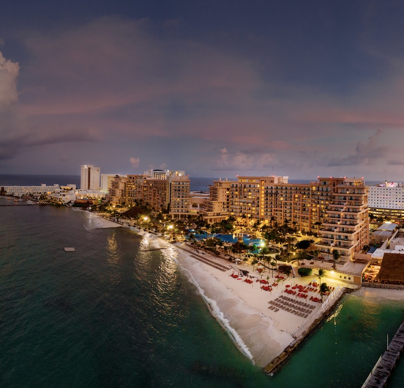 Cancun skyline hotels