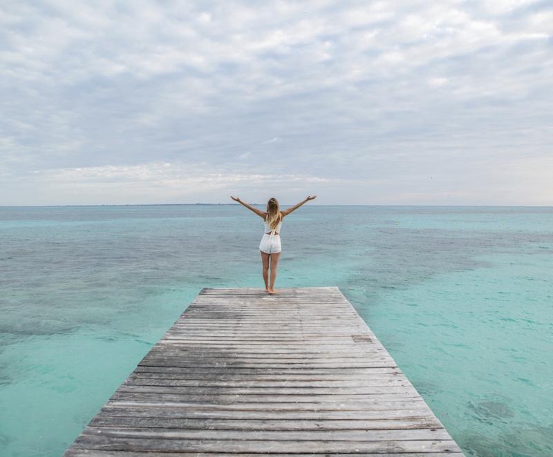tourist Caribbean Sea Cancun