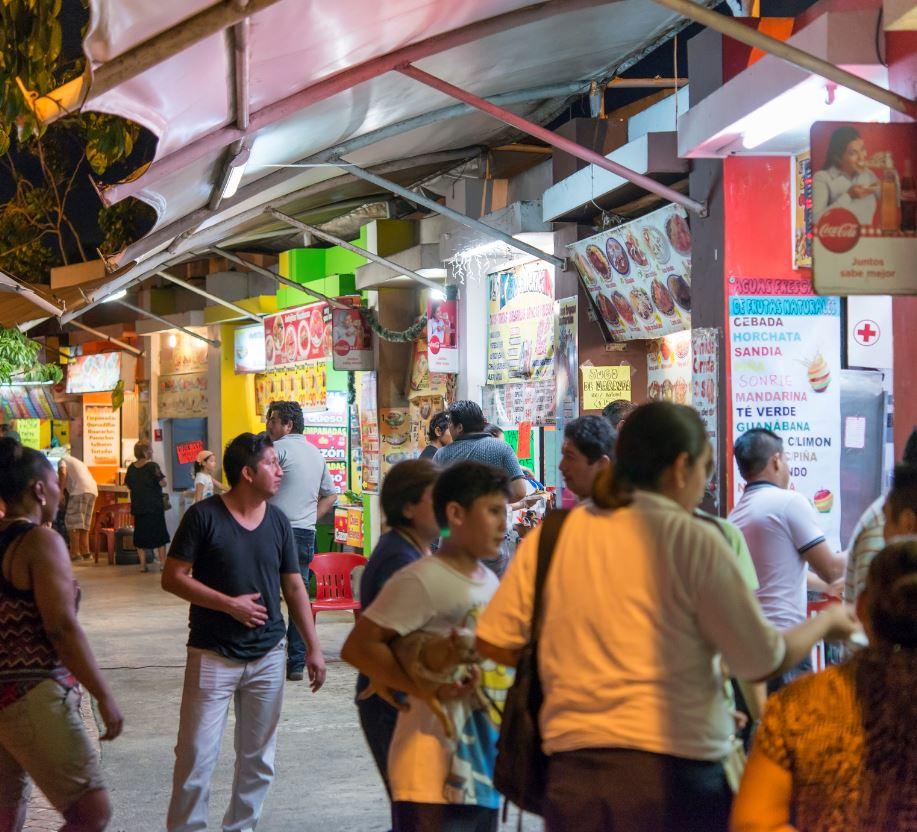 food vendor cancun
