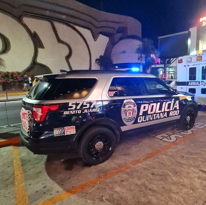 State Police in Cancun