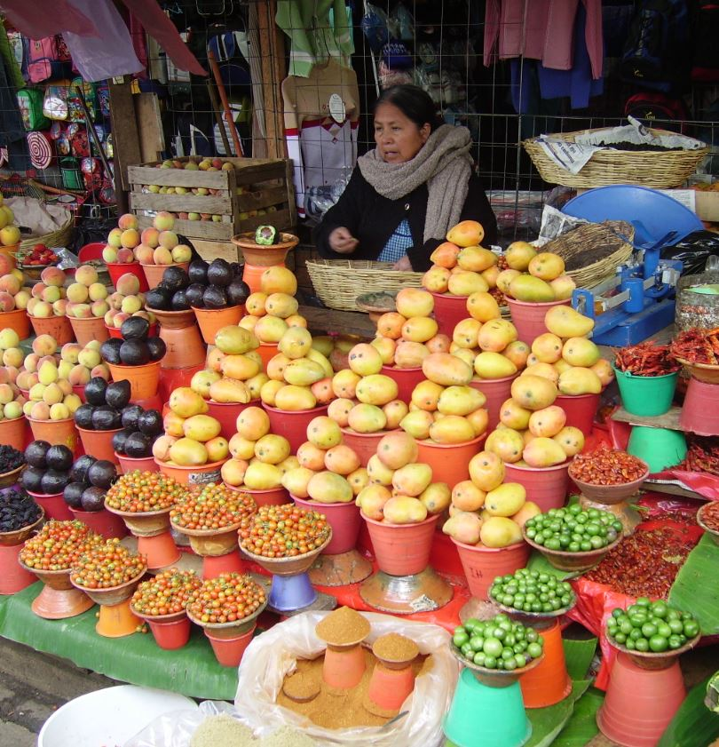Market vendor cancun